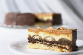 Kaffee- und <span>Karamell-Torte</span>