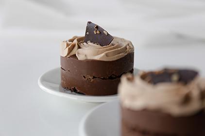 Orechová <span>tortička s čokoládou </span>