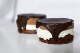 Caramel – peanut <span>mini-cake </span>